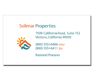 solimar properties business card by The Pen Rules